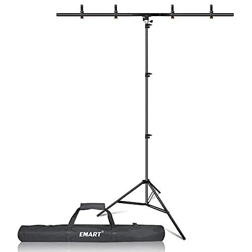 T-Shape Portable Background Backdrop Support Stand Kit